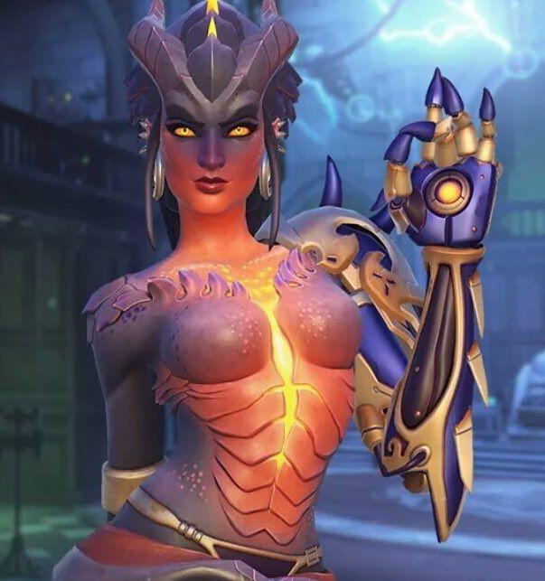 Zenyatta, Mei and Symmetra are getting new legendaries