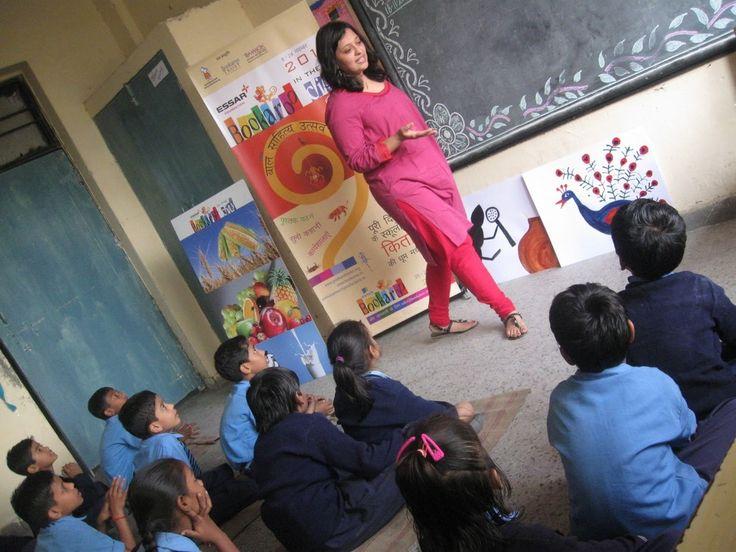 Learning Through Storytelling: Increasing Education of Children - Enroll