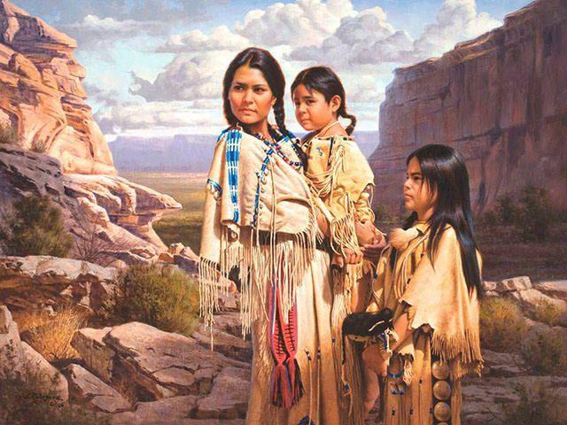Pinturas realísticas dos índios norte americanos | designerGH                                                                                                                                                                                 Mais