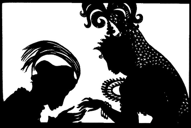 Lotte Reiniger Scherenschnitte: Papercutting, Silhouette, Reiniger Scherenschnitte