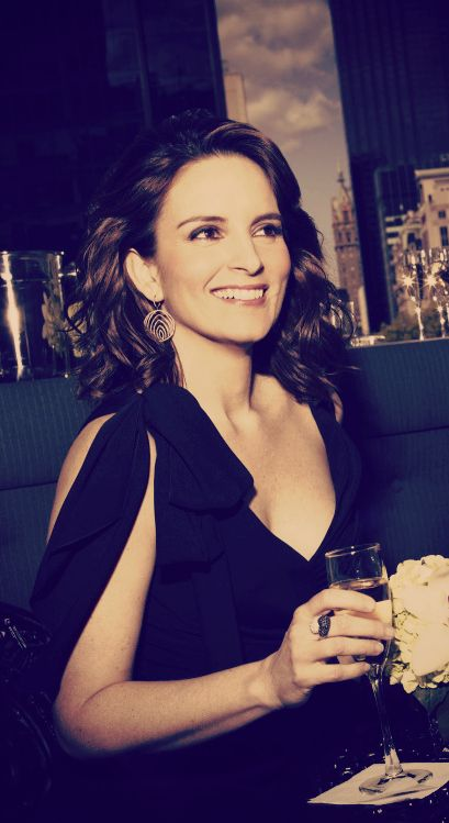 If you didn't know already...Tina Fey is my kind of woman. Super funny, doesn't care what people say, and is pretty.