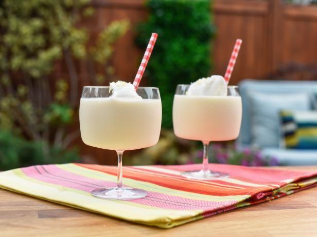 Get Frozen Vanilla Lemonade Recipe from Food Network