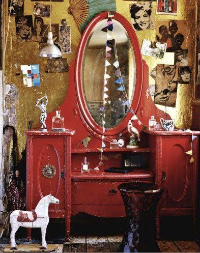 Circus Dressing Room