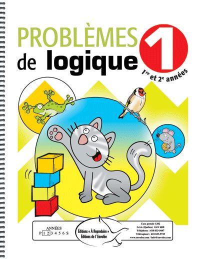 Problèmes de logique 1 - Éditions de l'Envolée