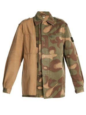 1980s Hungarian Military camouflage combat jacket   Myar   MATCHESFASHION.COM UK