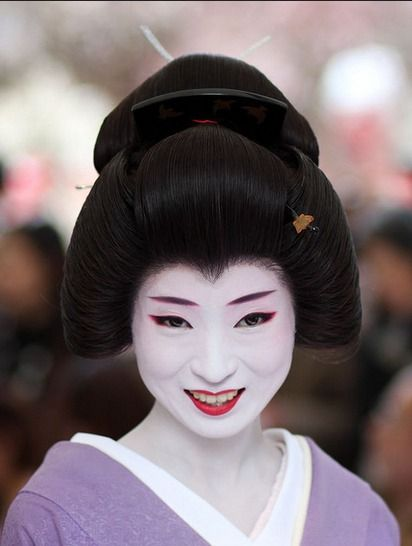 Geisha Umeha. She is so beautiful and sweet: