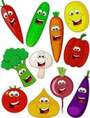 Personagem de desenho animado de vegetais — Ilustração de Stock #7683752