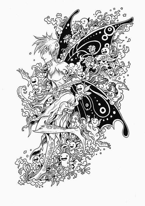 17 Best Images About Animorphia Doodle Coloringpages On