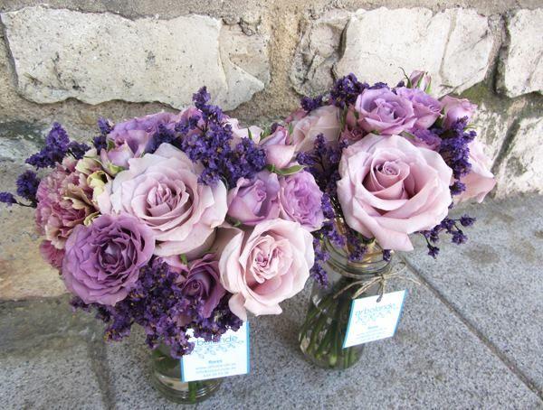 Decora tu boda con el color de moda: Radiant Orchid #deco #boda #colores