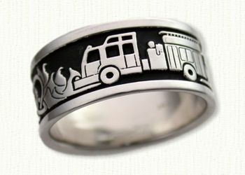 find this pin and more on firefighter wedding rings - Firefighter Wedding Rings