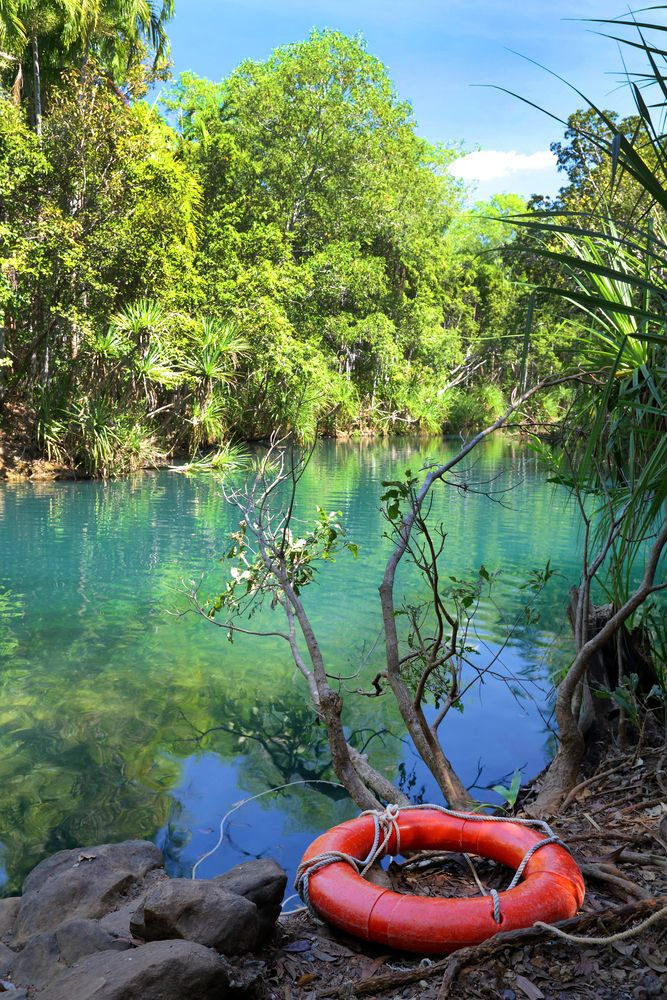 Berry Springs, Darwin, Northern Territory, Australia.