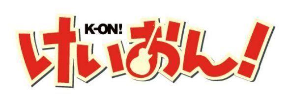K-ON! title logo
