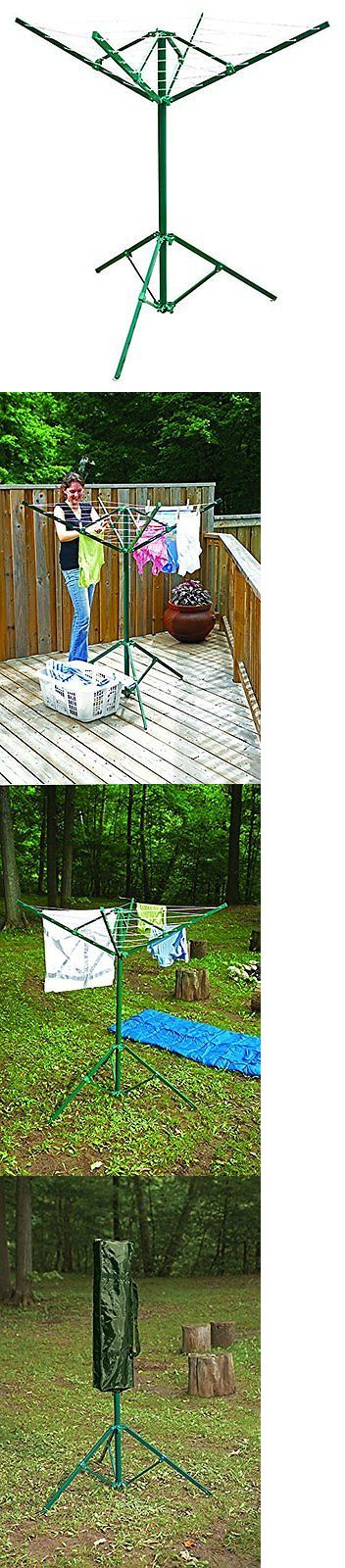 Clotheslines and Laundry Hangers 81241: Portable Outdoor Rotary Clothesline Laundry Dryer Clothes Line Drying Rack New -> BUY IT NOW ONLY: $41.04 on eBay!