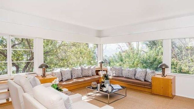 Stockard Channing Lists Above Laurel Canyon in Los Angeles