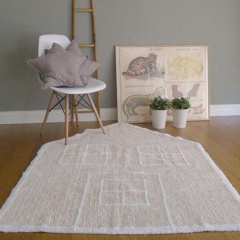 Tappeti in cotone 100%, ecologici e rigorosamente fatti a mano, provenienti dalla Spagna. Lavabili in lavatrice! #lorenacanals #tappeto #carpet #kidsroom #cameretta