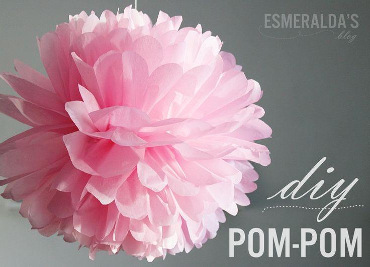 Pom-Pom -ohje | Esmeralda's http://esmeraldas.bellablogit.fi/pom-pom-ohje/#