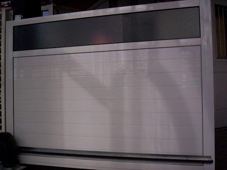 Porton de aluminio corredizo fabrica ventanas vidrio for Fabrica de puertas de aluminio