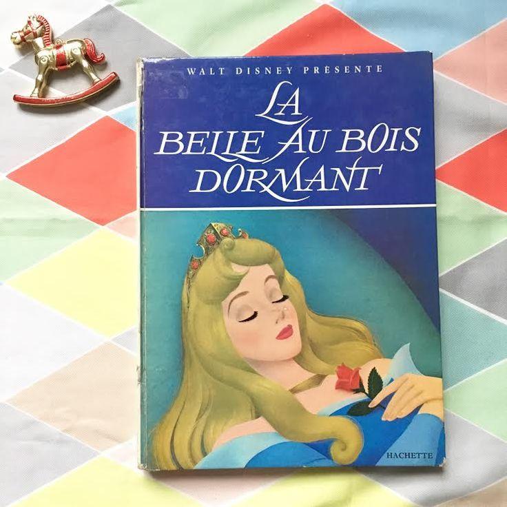 Orangevertevintage — Livre Vintage La Belle Au bois Dormant