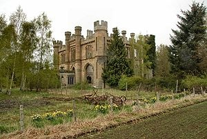 Crawford Priory, Scotland. Abandoned 1968