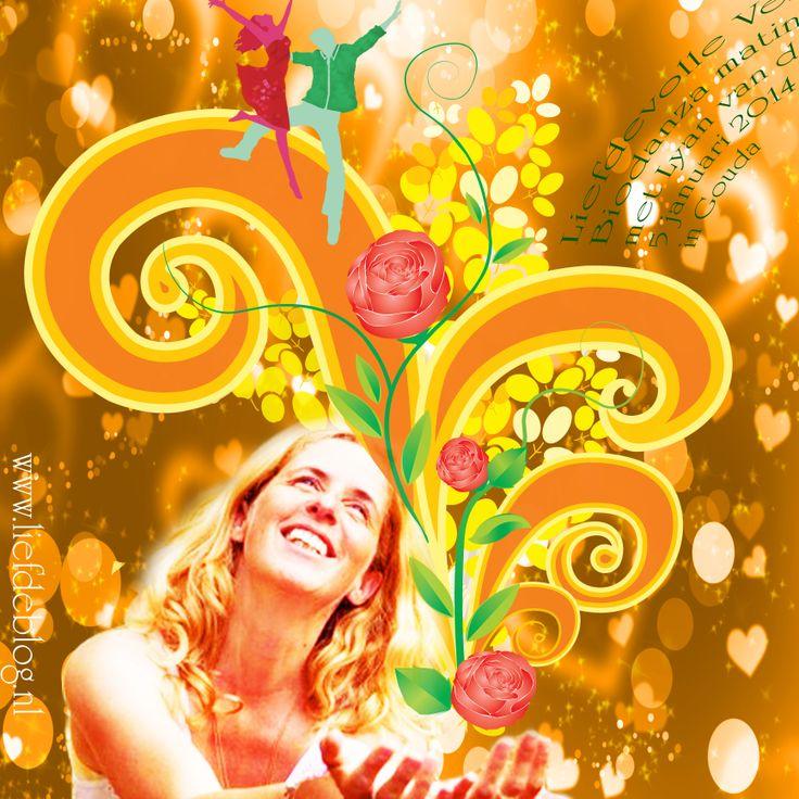 Liefdevolle Verbinding...  Lyan van de Meulen vertzorgt op 5 januari een biodanza matinee in De Balzaal in Gouda 2 workshops a € 15,- en samen lunchen!