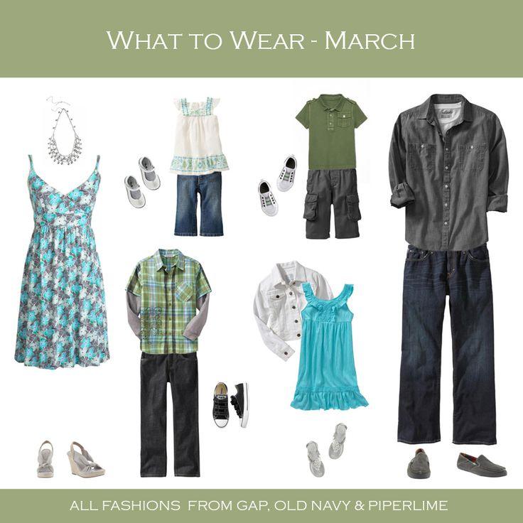 turquoise, olive, gray, white, denim