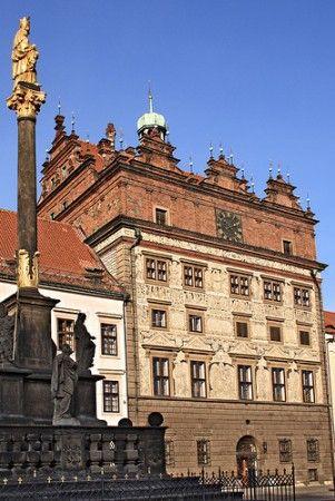 Renaissance City Hall in Plzeň, Czechia #city #czechia #pilsen