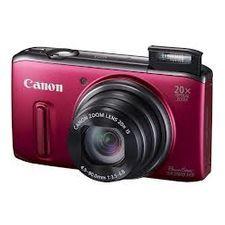 Aparat foto Compact Canon PowerShot SX260 HS Red