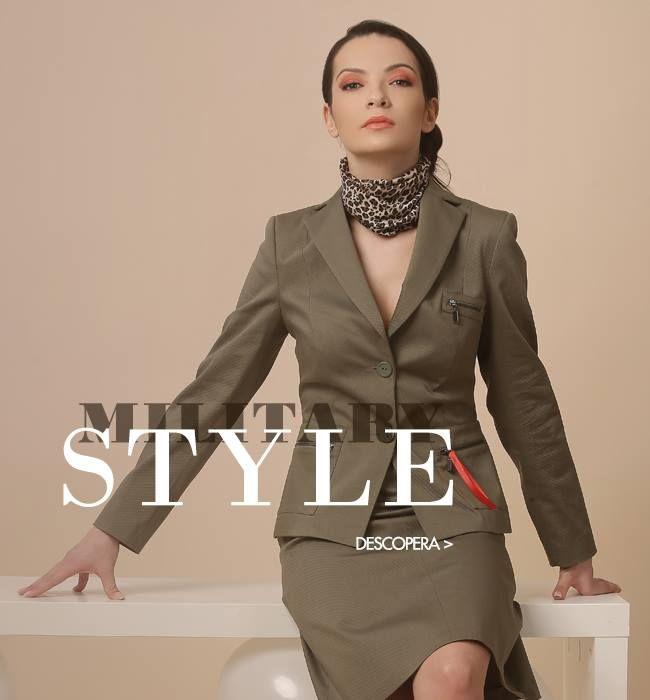 Women in power! Spring 17 | YOKKO #militarystyle #power #army #trend #spring17 #newcollection #fashion #yokko #kaki #women #jacket