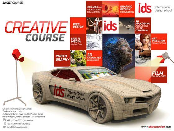 IDS   International Design School #Kursus Desain Grafis, Animasi, Film & Fotografi. Info: 021-7980180 / 085697715636. http://bit.ly/16snG12  http://www.idseducation.com http://www.facebook.com/idsEducationcom http://twitter.com/idsEducationcom