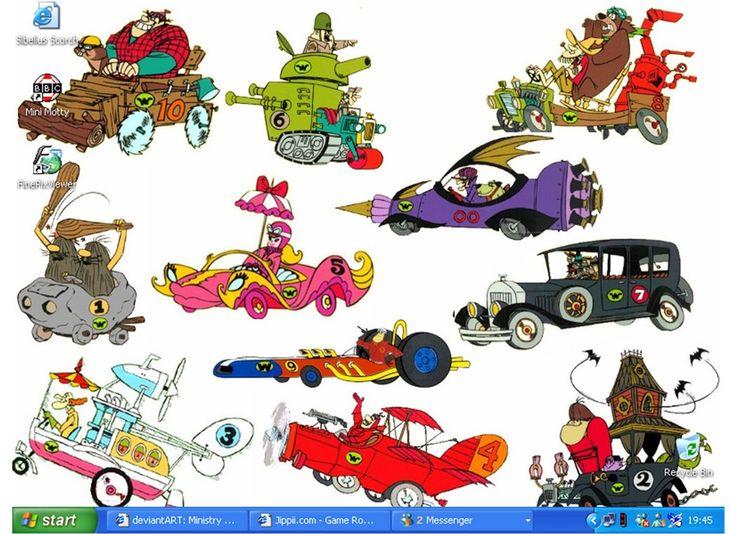 wacky races Wallpaper and Background | 1280x848 | ID:429080  |Wacky Racers Cartoon
