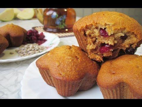 Рецепт кексов в силиконовых формочках. Постные кексы с клюквой и семечками. Фото и видео-рецепт! | Добрые вегетарианские рецепты с фото и видео