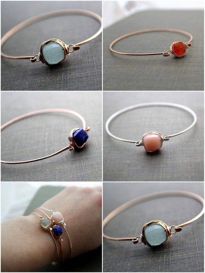 Saressa Designs has new cuffs for fall! - #handmaderings