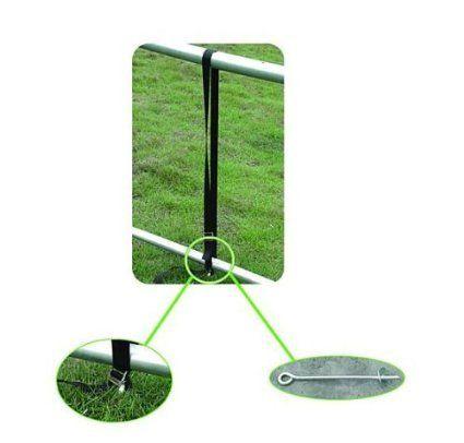 Universal Trampoline Tie Down Kit - Anchor Kit suitable for all Sizes  all brands like Super tramp, Jump King, Plum trampolines Universal Tie Down Kit https://www.amazon.co.uk/dp/B00W0D8ZWA/ref=cm_sw_r_pi_dp_czTgwb0AP62MP