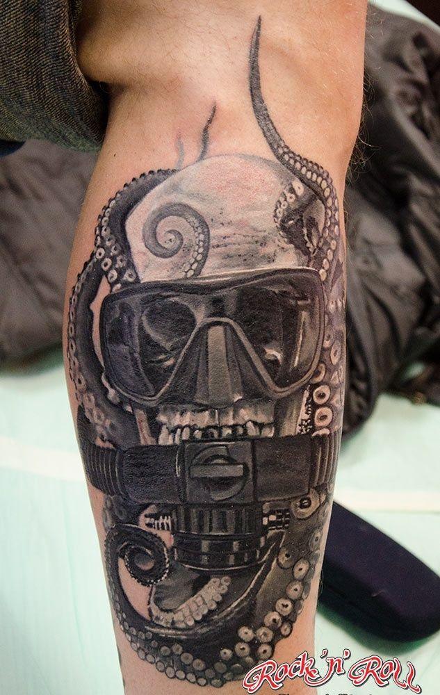 scuba tattoos - Google Search