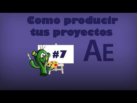 After effects - Como procesar videos - YouTube