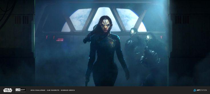 Star Wars Concept Art - Created by Giorgio Grecu