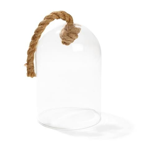Decorative Glass Bell Jar with Rope | Kmart