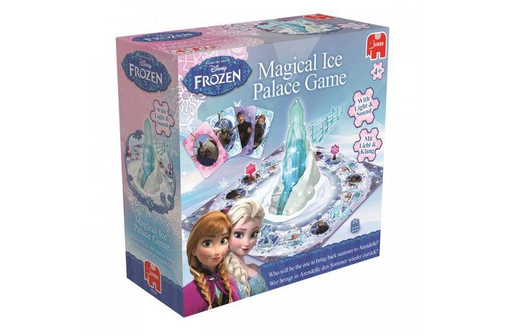 Disney Frozen Magical Ice Palace Game van Jumbo  De zomer in Arendelle is verdwenen! Elsa heeft per ongeluk Arendelle in een eeuwigdurende winter gehuld. Anna, Kristoff, Sven en andere bewoners van Arendelle zitten vast in een grote sneeuwstorm. Jouw taak is om ze te vinden en om ze te bevrijden! #jumbo #disney #frozen #kindercadeau