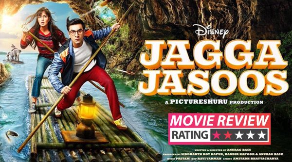 Jagga Jasoos movie review: Katrina Kaif and Ranbir Kapoor's musical is truly a GALTI SE MISTAKE #FansnStars