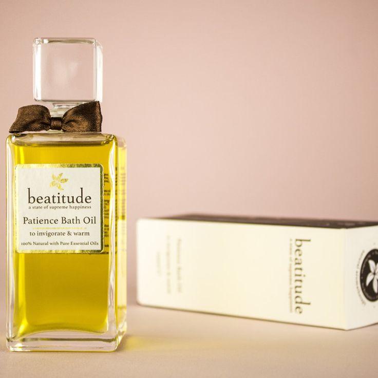Beatitude - Patience Aromatherapy Bath Oil 100ml, £39