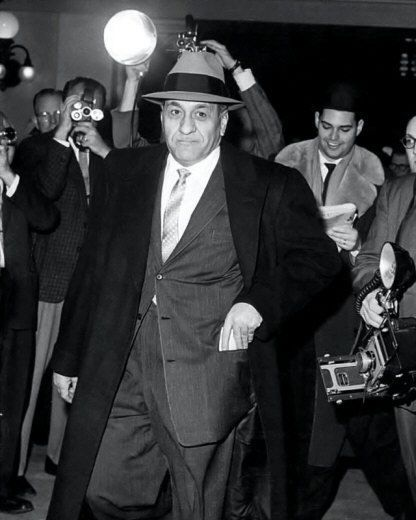 Tony Accardo Photo 8x10 1959 Mobster Mafia Chicago Outfit Buy Any 2 Get 1 Free | eBay