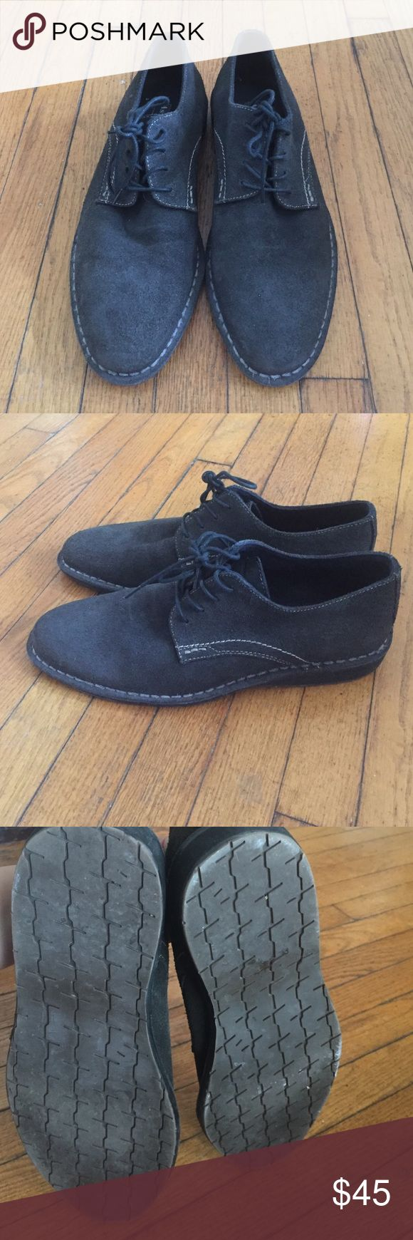 Dress shoes FINAL PRICE Nice lace up shoes . Suede aston grey Shoes
