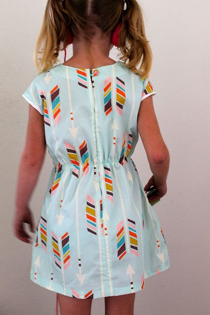 Roller Skate Dress by Oliver+S (Unlined) | Flickr - Photo Sharing!