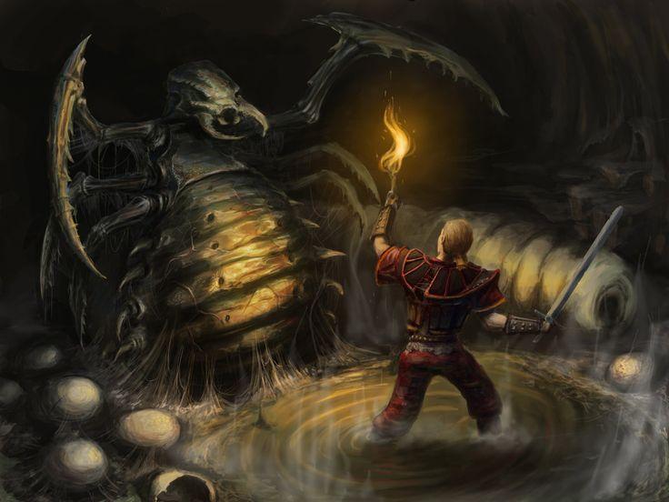 Gothic I: Crawler Queen by scerg on DeviantArt