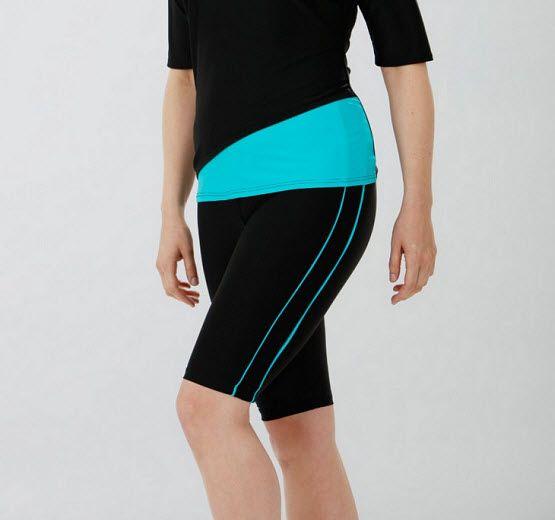 Luxury New Ladies Womens Long Bermuda Board Swim Shorts Pants Sizes SMLXL