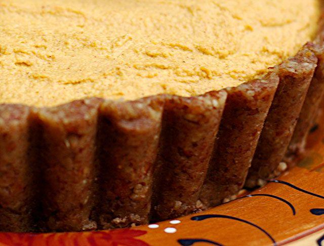 Raw Food Recipes: Pumpkin Pie —Raw Food Rawmazing Raw Food