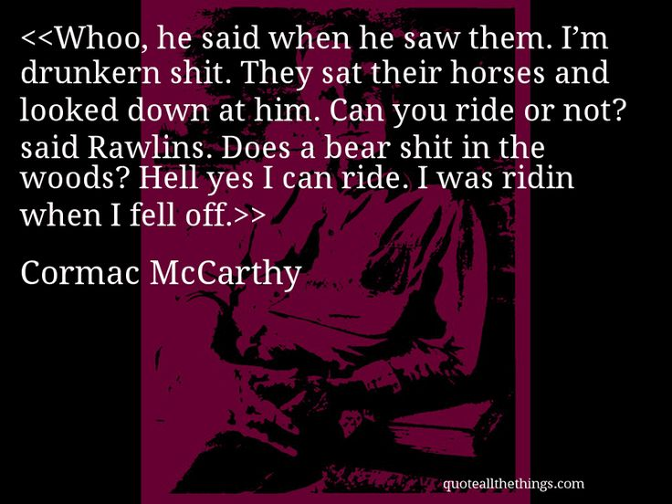 by cormac essay horse mccarthy online pretty All the pretty horses study guide contains a biography of cormac mccarthy, literature essays, quiz questions, major themes, characters, and a full summary and analysis.