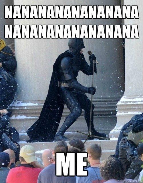 Nanananananana #Batman... lol #Humor por cuenta de @Enterco