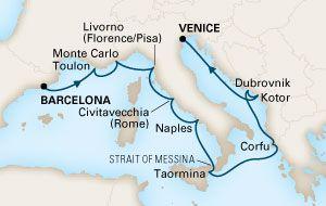 Holland America - Mediterranean Tapestry Cruise