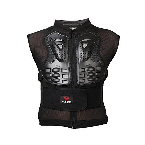 ECLEAR Motorcycle Protective Jacket With Vest Armor Mesh Body Chest Spine Protector Outdoor Sport Gear For Motorcross Racing ATV Quad Dirt Bike Black. For product info go to:  https://www.caraccessoriesonlinemarket.com/eclear-motorcycle-protective-jacket-with-vest-armor-mesh-body-chest-spine-protector-outdoor-sport-gear-for-motorcross-racing-atv-quad-dirt-bike-black/